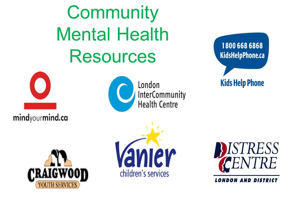 Community Mental Health Resources