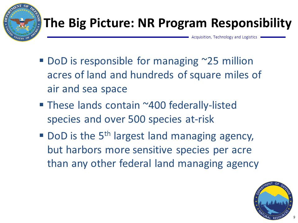 Acquisition, Technology and Logistics The Big Picture: FY2014 EMR Snap Shot Draft Input 10