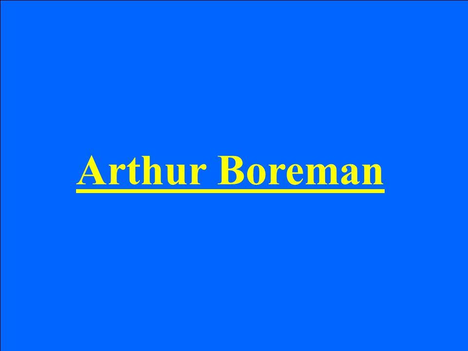 Arthur Boreman