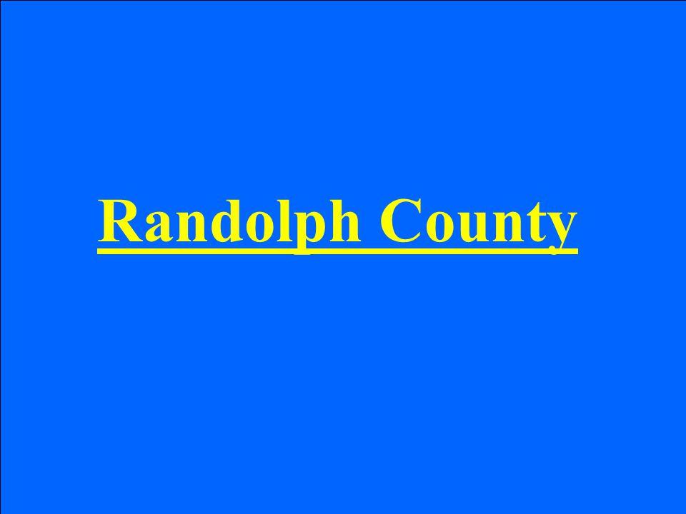 Randolph County