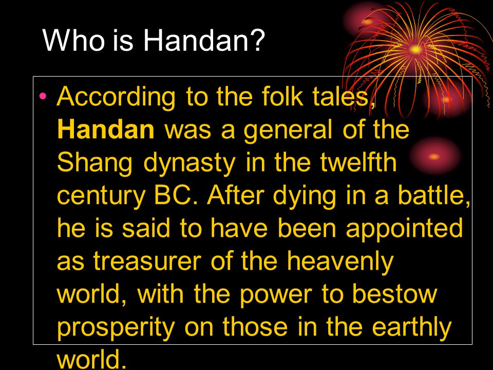 Who is Handan.