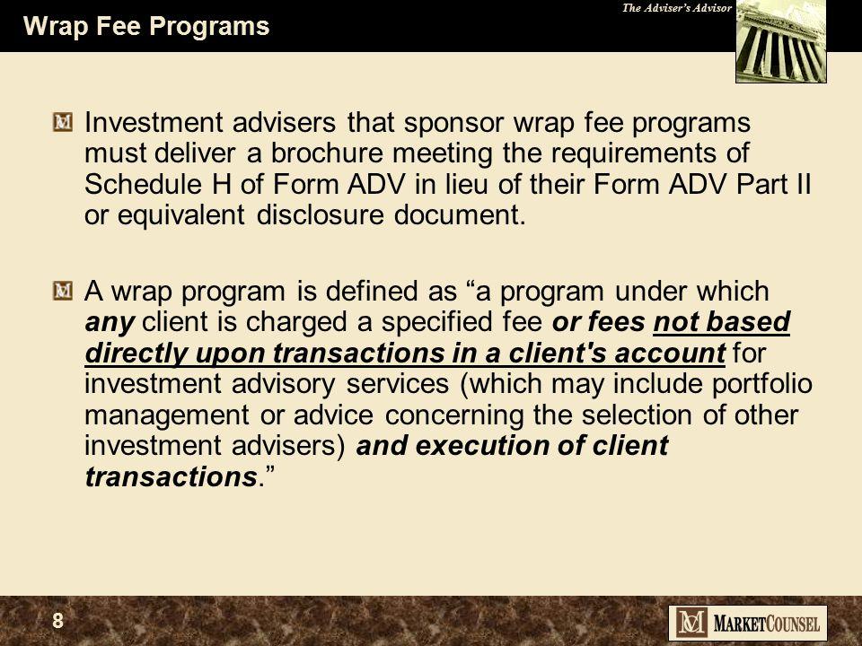 The Adviser's Advisor 38 Client Liability source: NASD Dispute Resolution web site WHAT'S UP (  ) .
