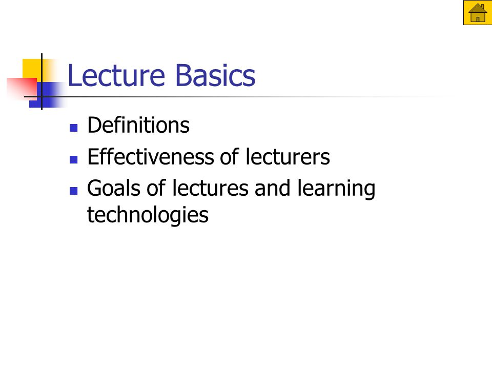 Use a clear structure – cont'd Prepare 12-20 slides per 50-minute lecture Budget time for questions and activities PowerPoint works best with linear, hierarchical format A less linear format is possible