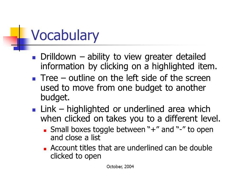 October, 2004 In the Internet Explorer address bar: http://vega/frxwebport/default.asp