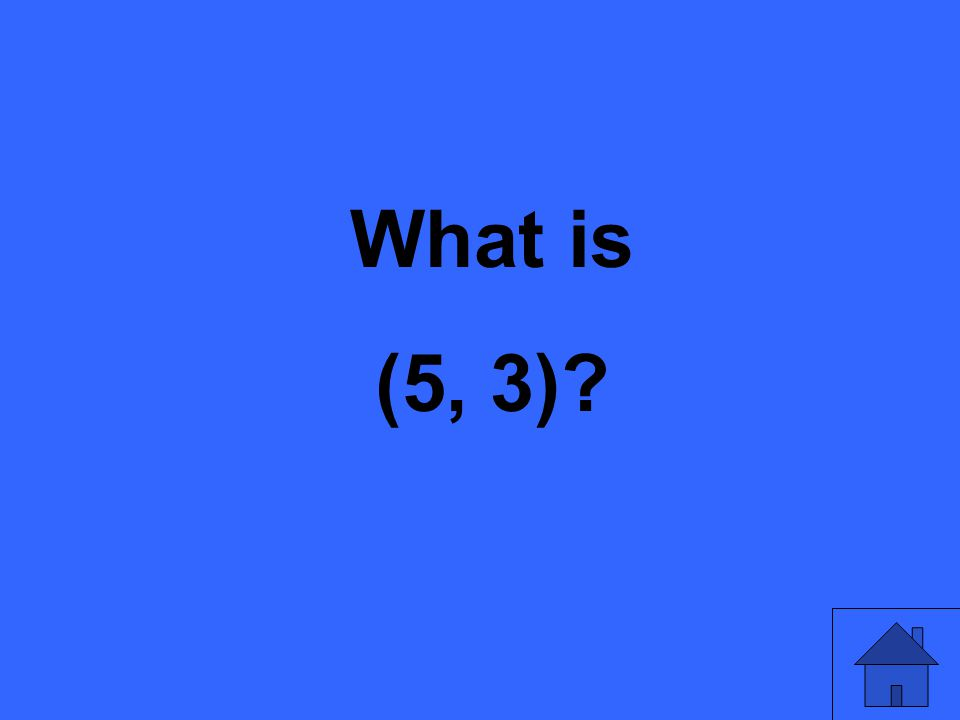 What is (5, 3)?