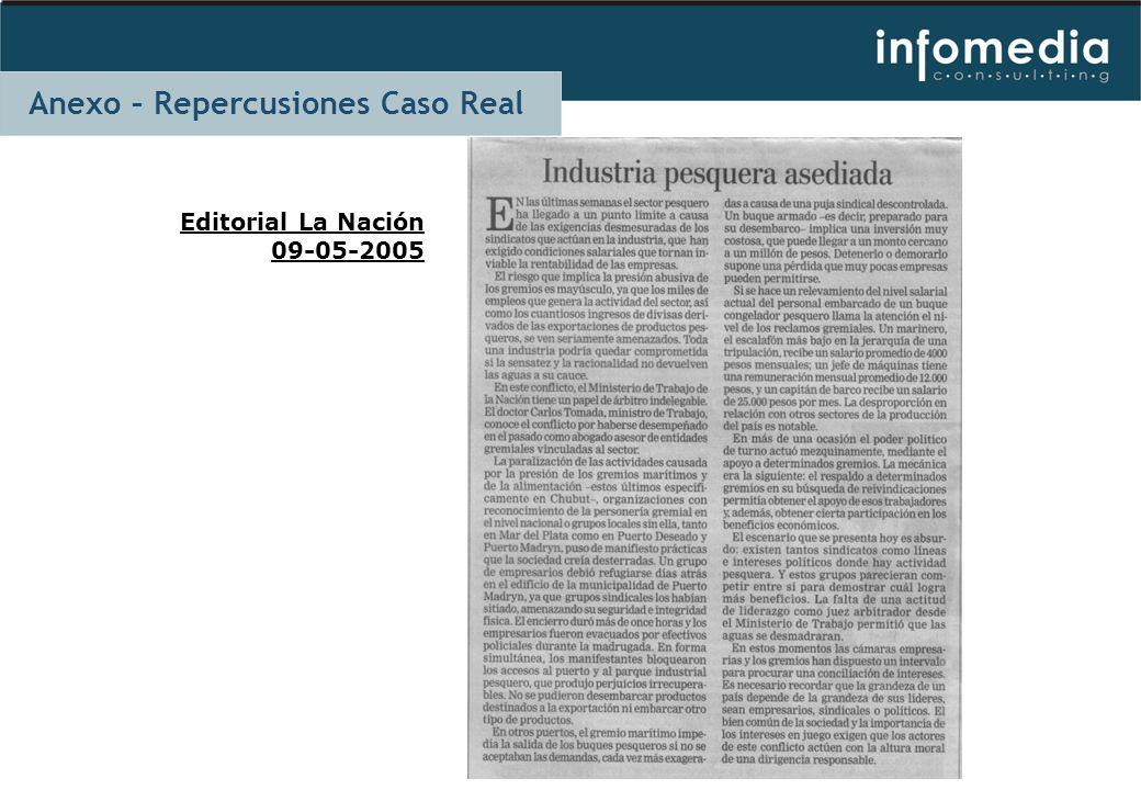 Editorial La Nación 09-05-2005 Anexo – Repercusiones Caso Real