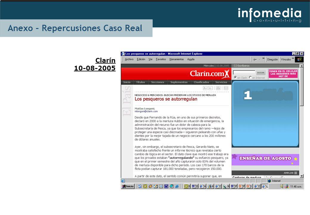 Clarín 10-08-2005 Anexo – Repercusiones Caso Real