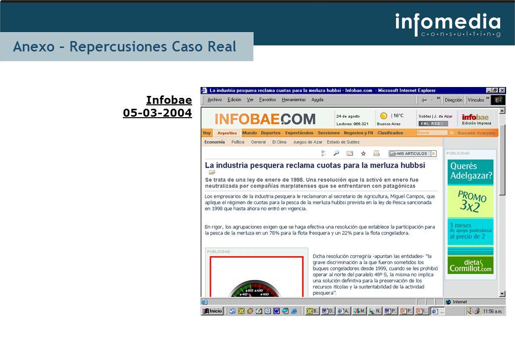 Infobae 05-03-2004 Anexo – Repercusiones Caso Real