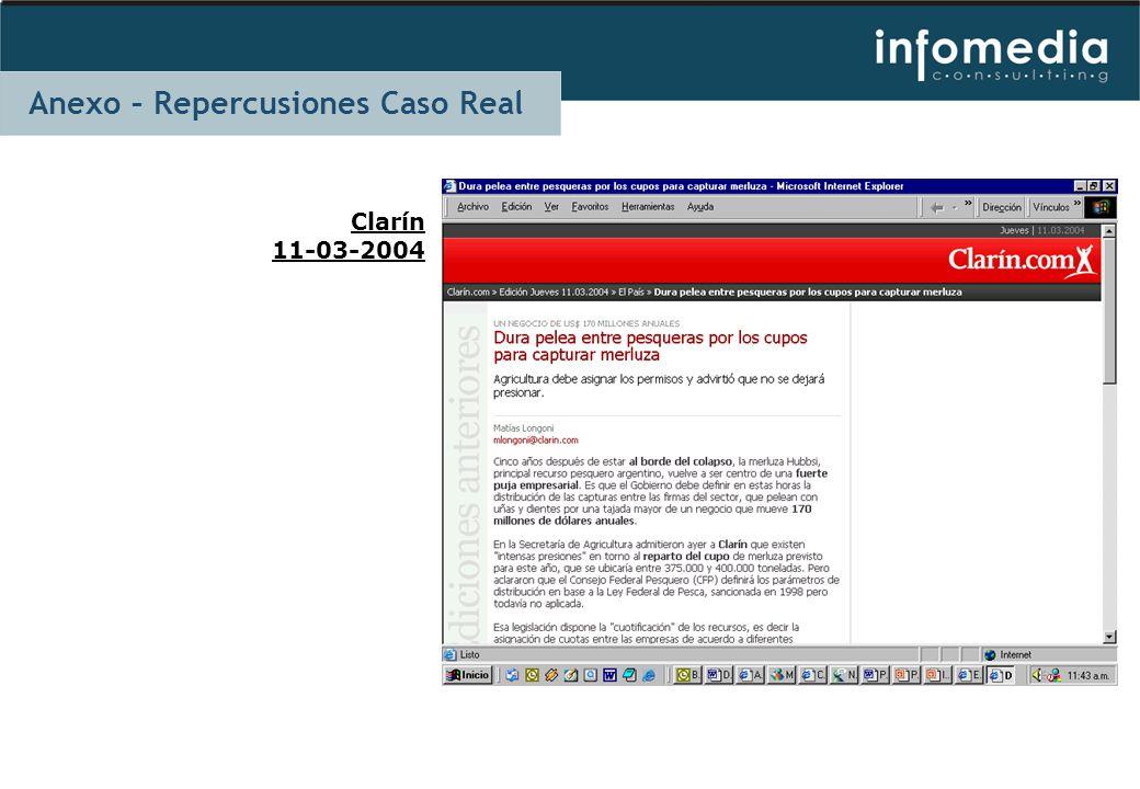 Clarín 11-03-2004 Anexo – Repercusiones Caso Real