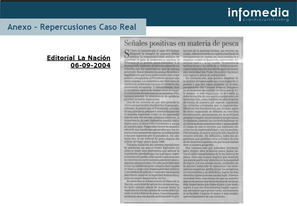 Editorial La Nación 06-09-2004 Anexo – Repercusiones Caso Real