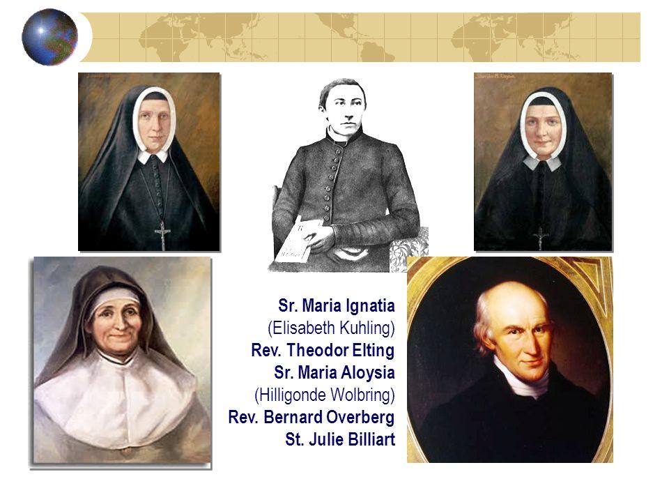 Sr. Maria Ignatia (Elisabeth Kuhling) Rev. Theodor Elting Sr.