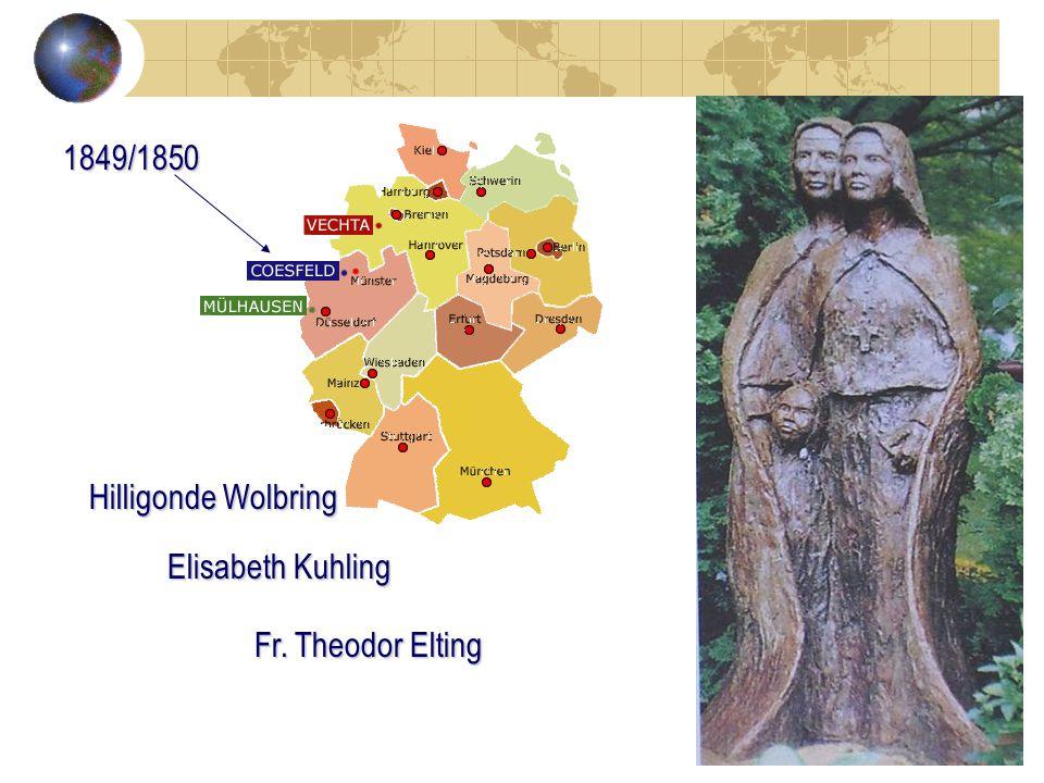 1849/1850 Hilligonde Wolbring Elisabeth Kuhling Fr. Theodor Elting
