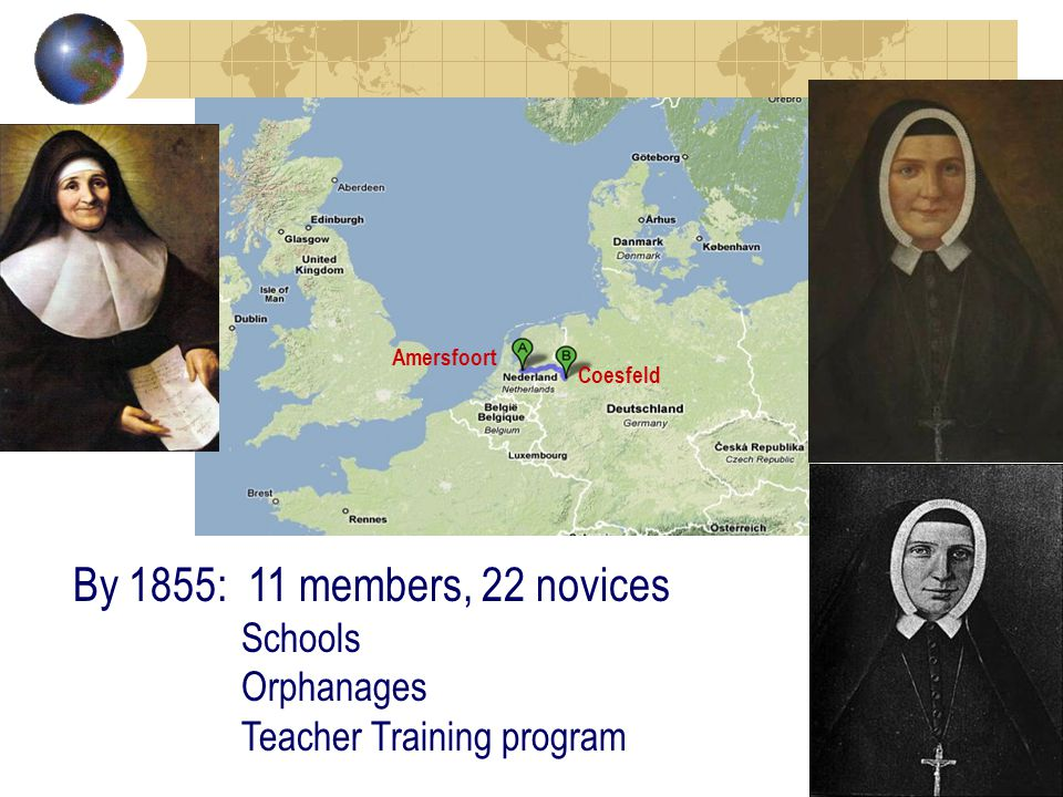Our Challenge Our predecessors shaped our heritage by living the charism and mission We continue to shape it with and for the people of God.