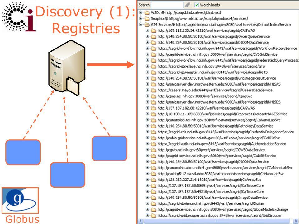 19 Discovery (1): Registries Globus