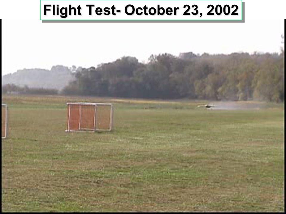 16 16 Flight Test- October 23, 2002