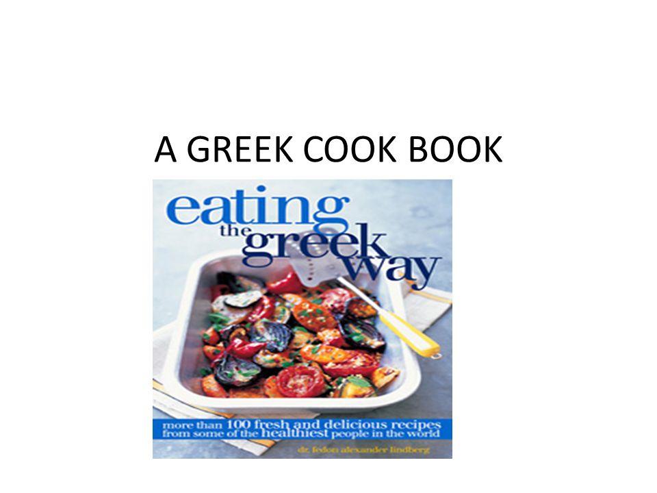 A GREEK COOK BOOK