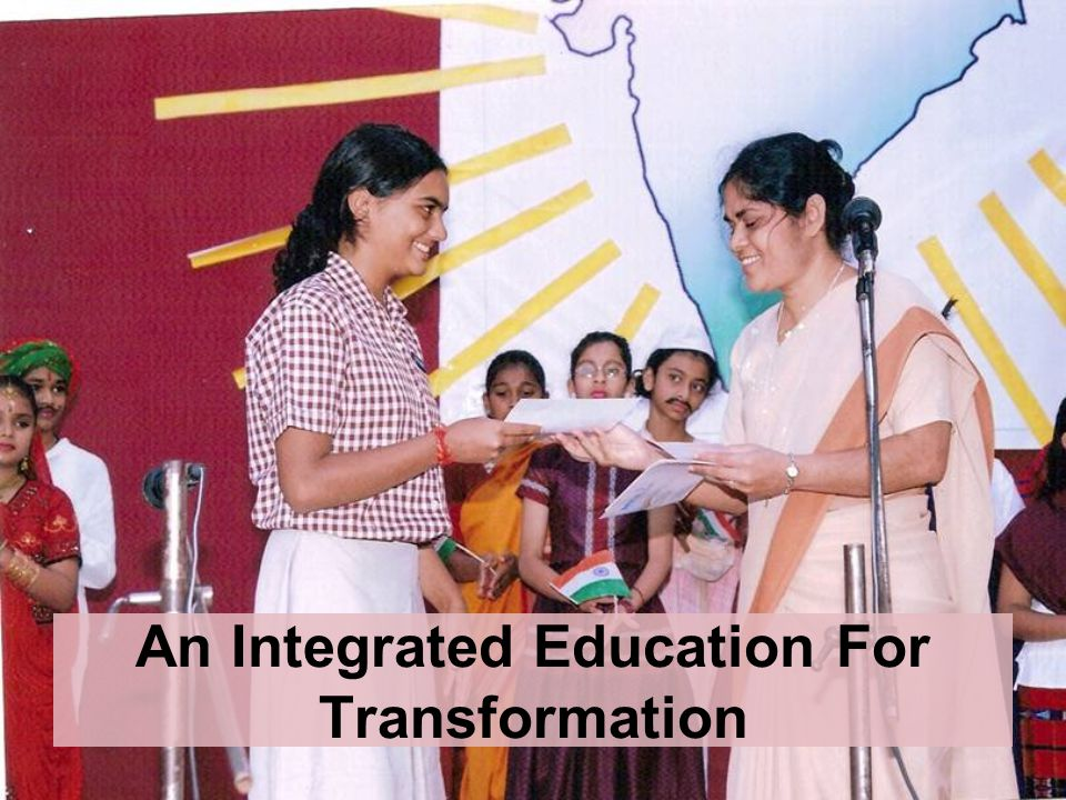 An Integrated Education For Transformation