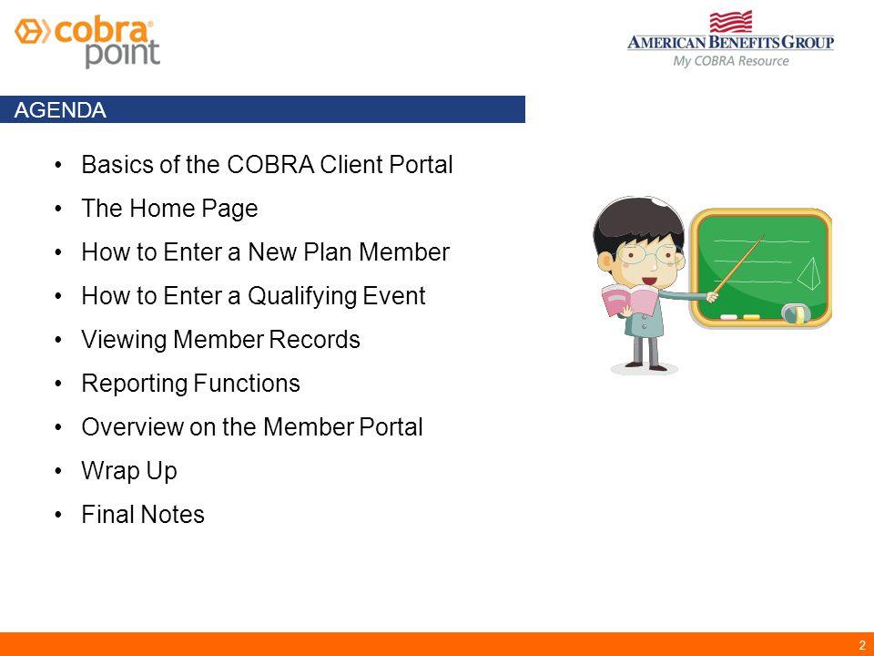 23 3.Plans Verify plans and coverage levels.