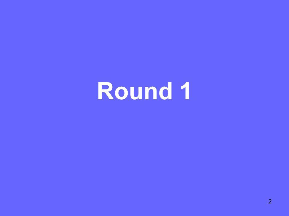 2 Round 1