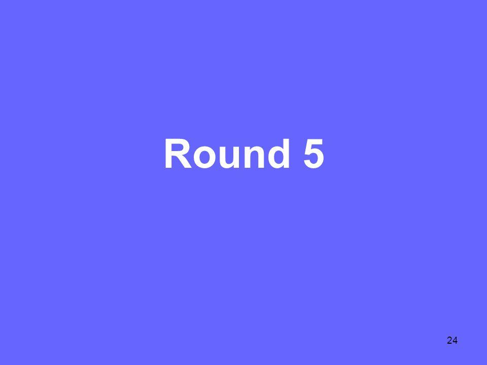 24 Round 5