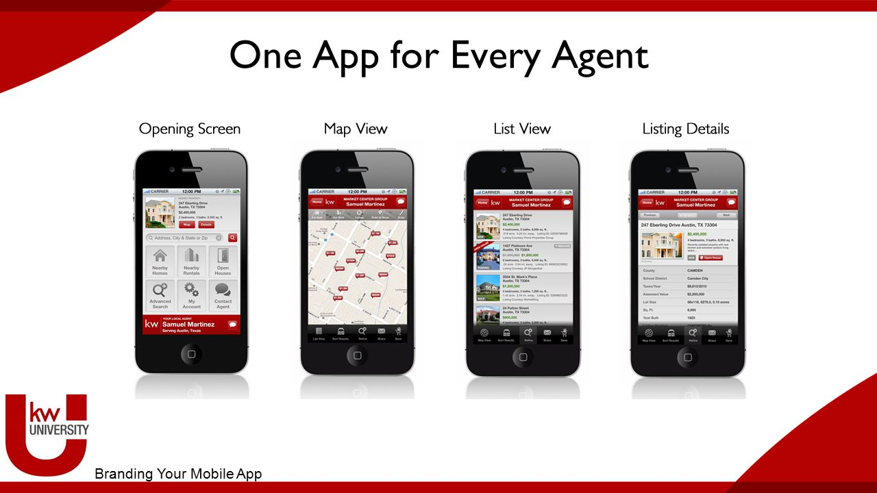 One App for Every Agent Branding Your Mobile App