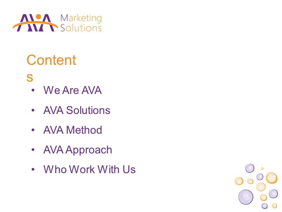 We Are AVA