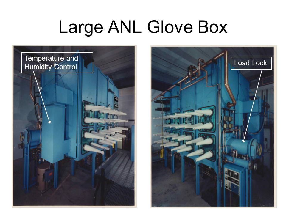 Large ANL Glove Box Load Lock Temperature and Humidity Control