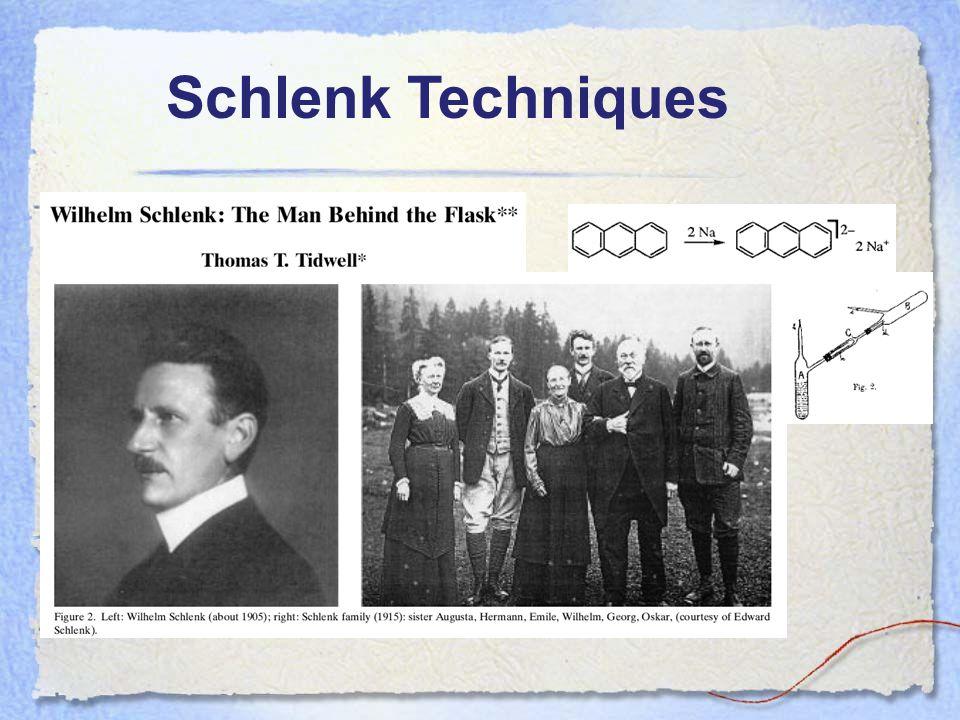 Schlenk Techniques