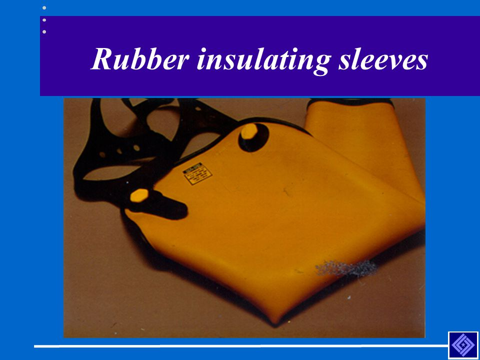 Rubber insulating sleeves