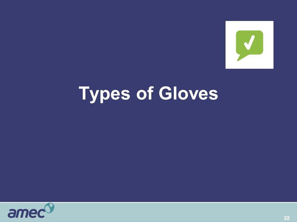 22 Types of Gloves