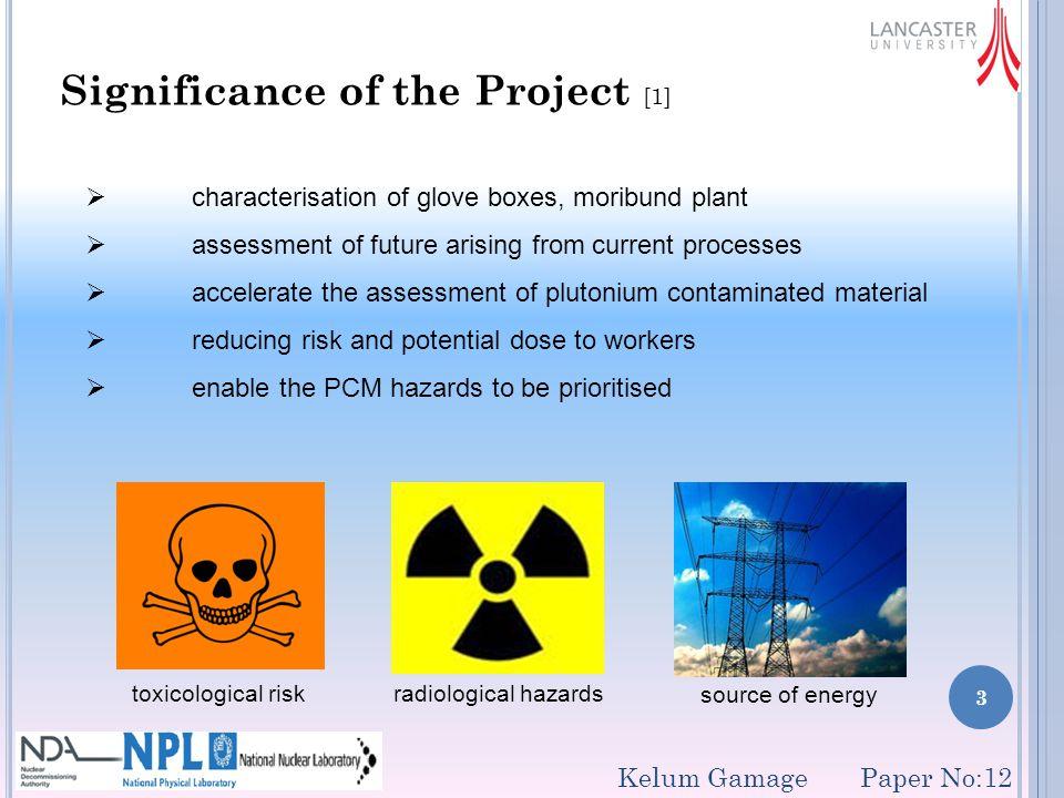 14 Modelling of glove box environment (cont.) Case 2 Kelum Gamage Paper No:12