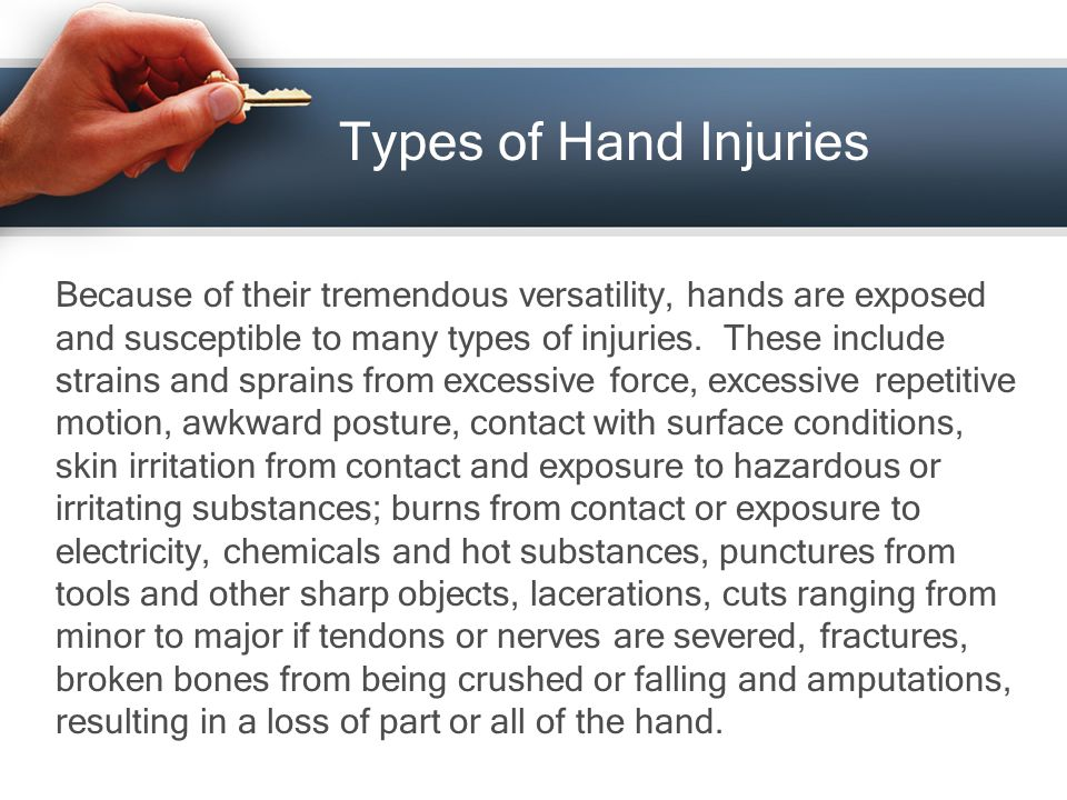 Proper Use of Gloves Inspect gloves before each use for wear, cracks and other signs of defects that may inhibit the protection they provide you.