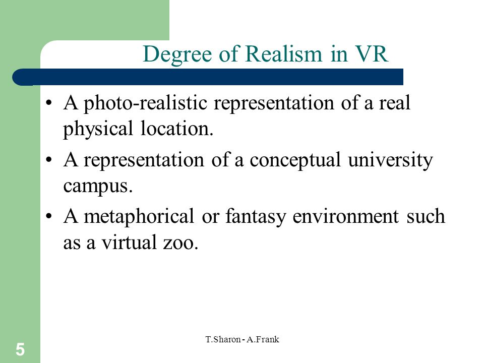 6 T.Sharon - A.Frank VR Technical Approaches 1.Head-Mounted –Head-mounted wide-view stereo display.