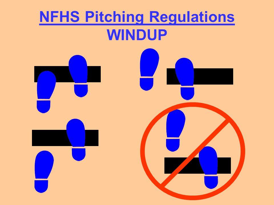 NFHS Pitching Regulations WINDUP