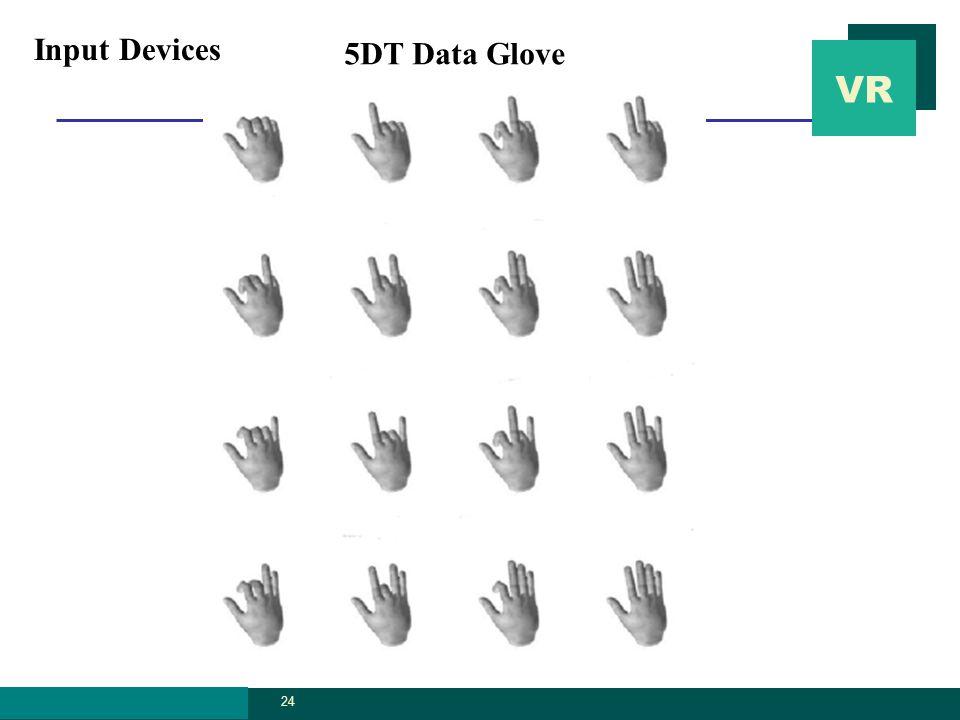 VR graphics.ssu.ac. kr 24 5DT Data Glove Input Devices