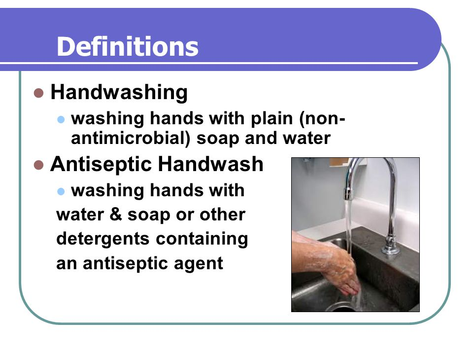 Ability to Kill Bacteria on Hands Adapted from: Hospital Epidemiology and Infection Control, 2nd Edition, 1999.