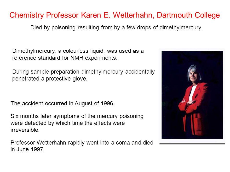Chemistry Professor Karen E.