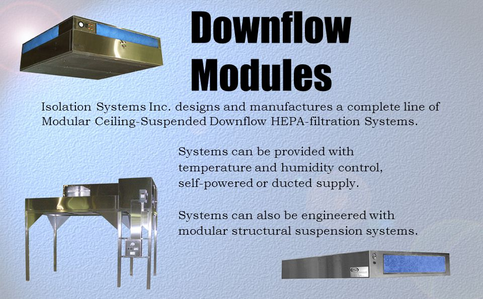 Downflow Modules Isolation Systems Inc.