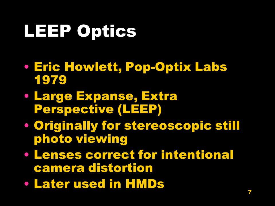 8 LEEP Optics