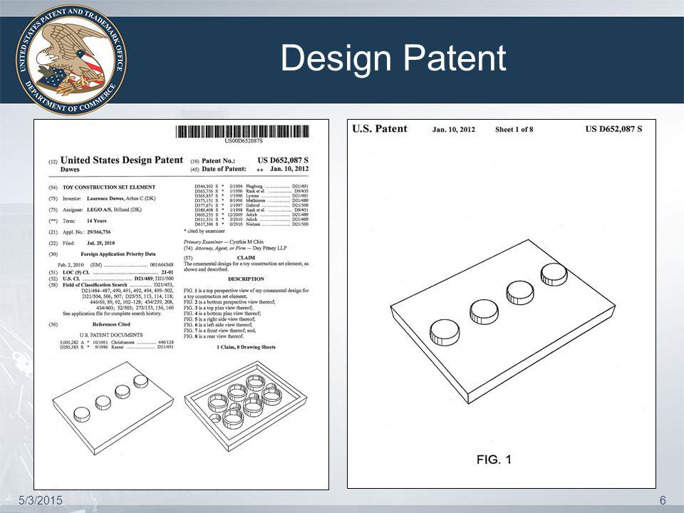 Plant Patent 5/3/20157