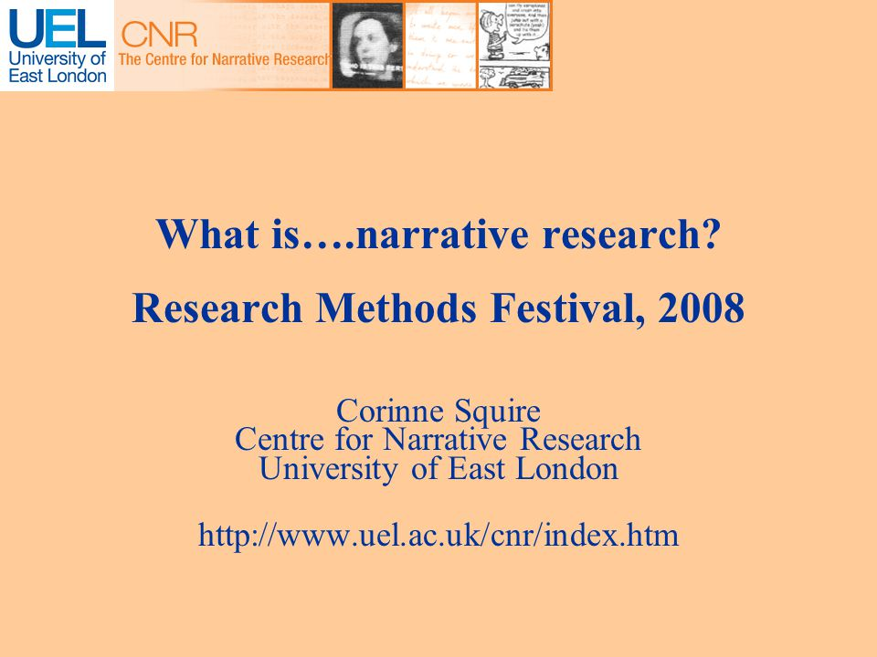 What is….narrative research.