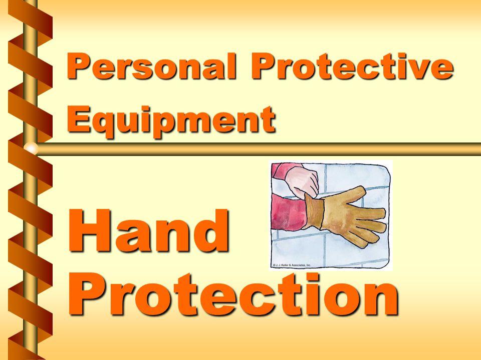 Types of hand protection v Mitts v Finger cotts v Thimbles v Hand pads 1a