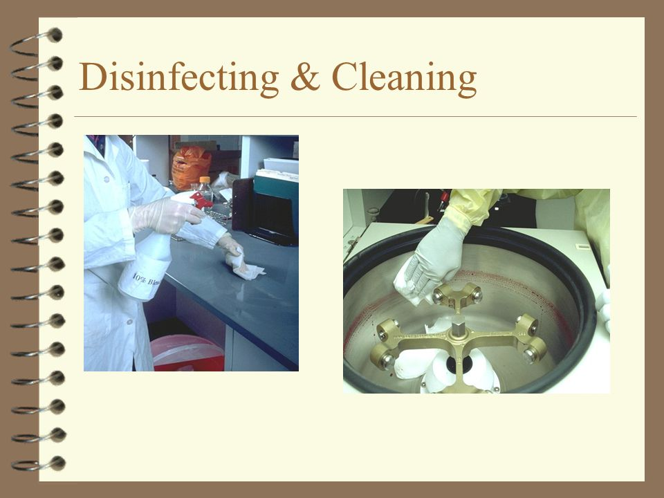 Disinfecting & Cleaning