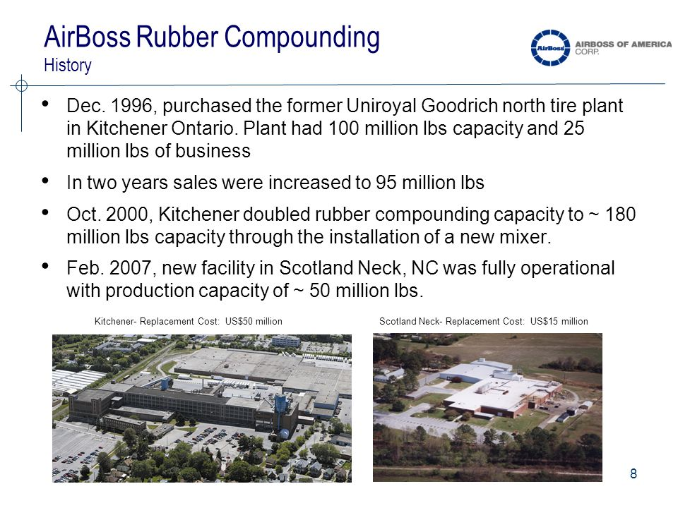 8 AirBoss Rubber Compounding History Dec.