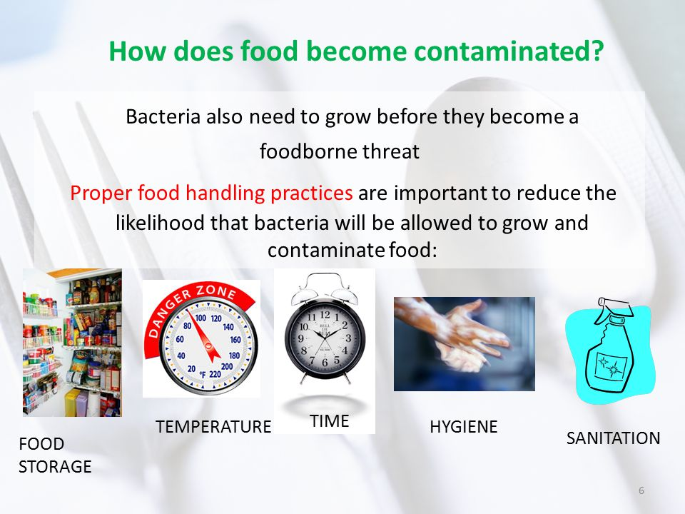 How can I prevent cross-contamination of food and foodborne illness? 7