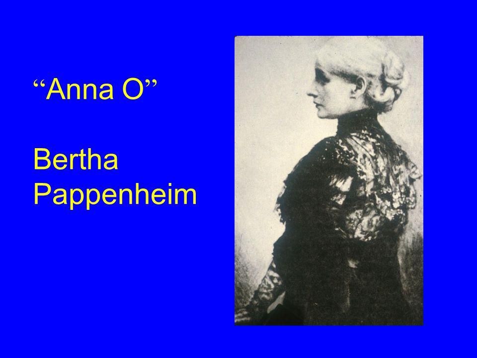 Anna O Bertha Pappenheim