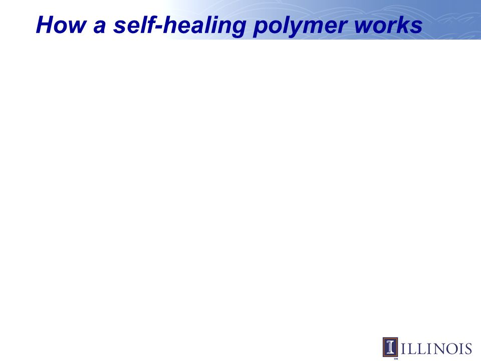 How a self-healing polymer works