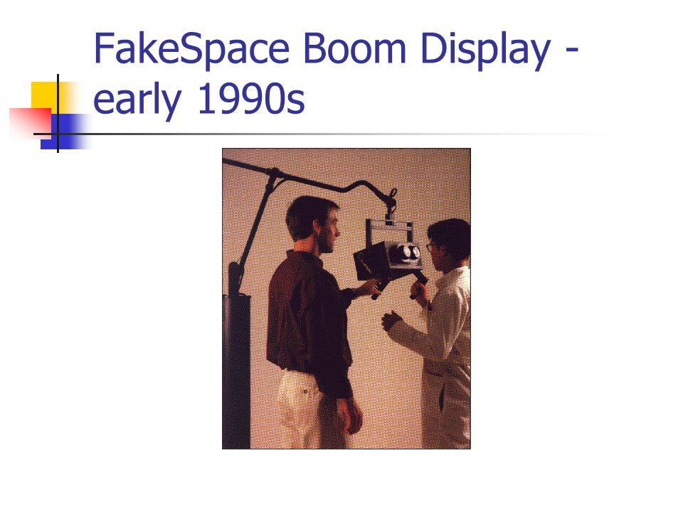 FakeSpace Boom Display - early 1990s