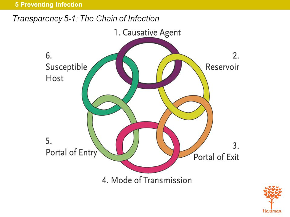 5 Preventing Infection 13.Define the terms MRSA, VRE, and C.