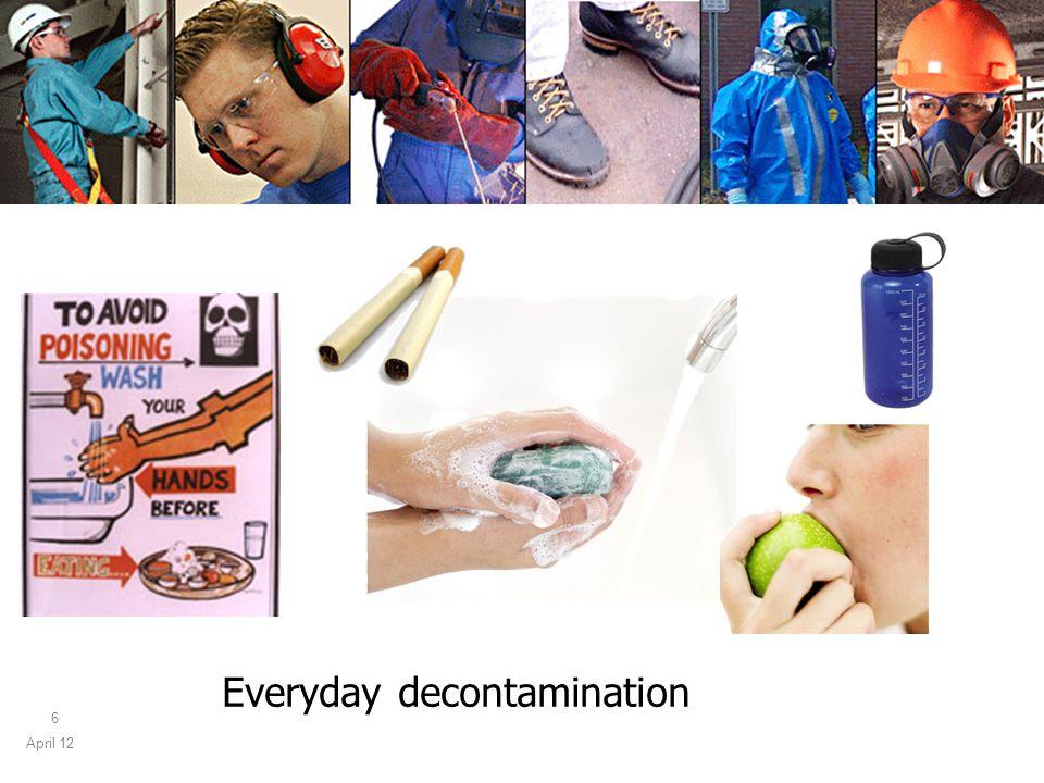 April 12 6 Everyday decontamination
